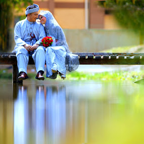 by Nuzul Taufiq - Wedding Bride & Groom