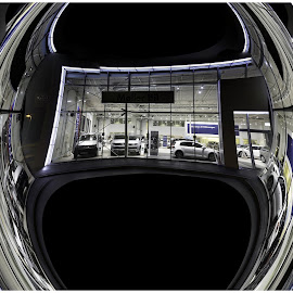 panoramic chaos by Atle Bogen - Abstract Patterns ( shop, color, cars, big wheel, panoramic chaos )