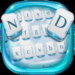 White Tech Robot Keyboard Icon