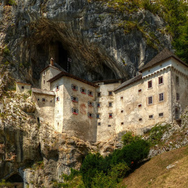 Predjama castle by Renata Zemanová - Uncategorized All Uncategorized ( slovenia, rock, castle )