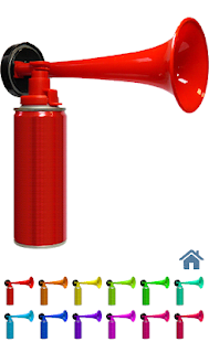 Air horn for pc