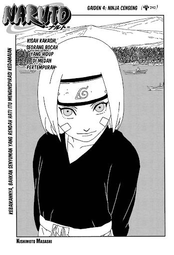 Komik Naruto : kakashi gaiden 4 1
