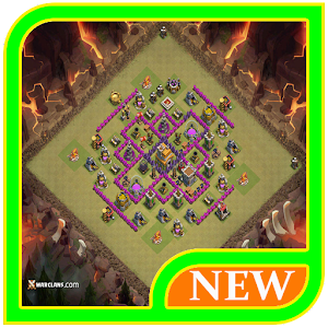 Defense Base Layouts Coc 2017