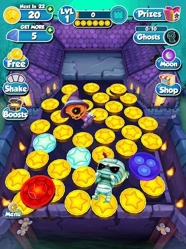 Coin Dozer: Haunted Ghosts screenshot 14