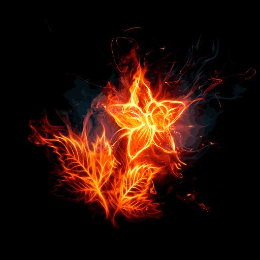 Flowers Fire Love (app)
