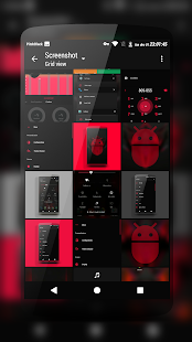 PitchBlack | DarkRed CM13/12 Screenshot