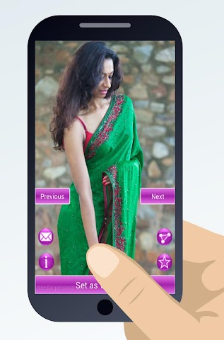 android indian sari dresses Screenshot 2