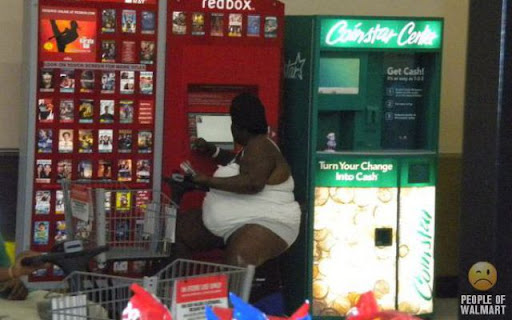 Coisas que você só vê... no Wal-Mart - Parte 8