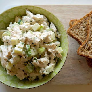 Simple Chicken Salad with Green Apples