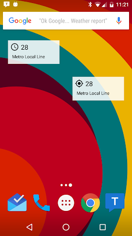 android Transit Tracker+ - Metro Screenshot 7