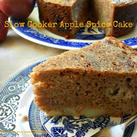 Slow Cooker Apple Spice Cake