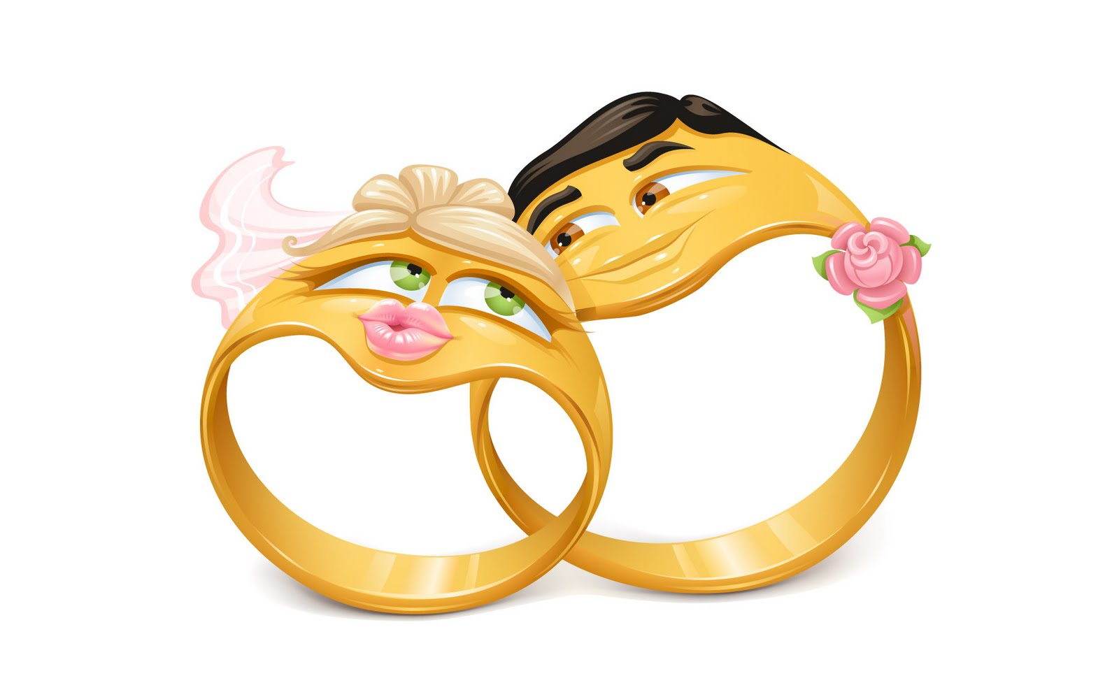 Funny Love Wedding Rings. Free