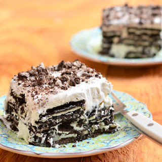 Three-Ingredient Oreo Ice Cream Cake