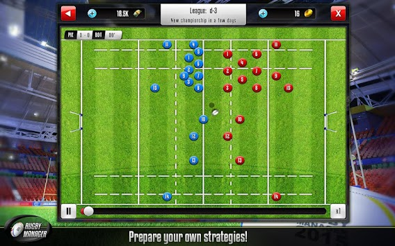 Rugby Manager APK screenshot thumbnail 9