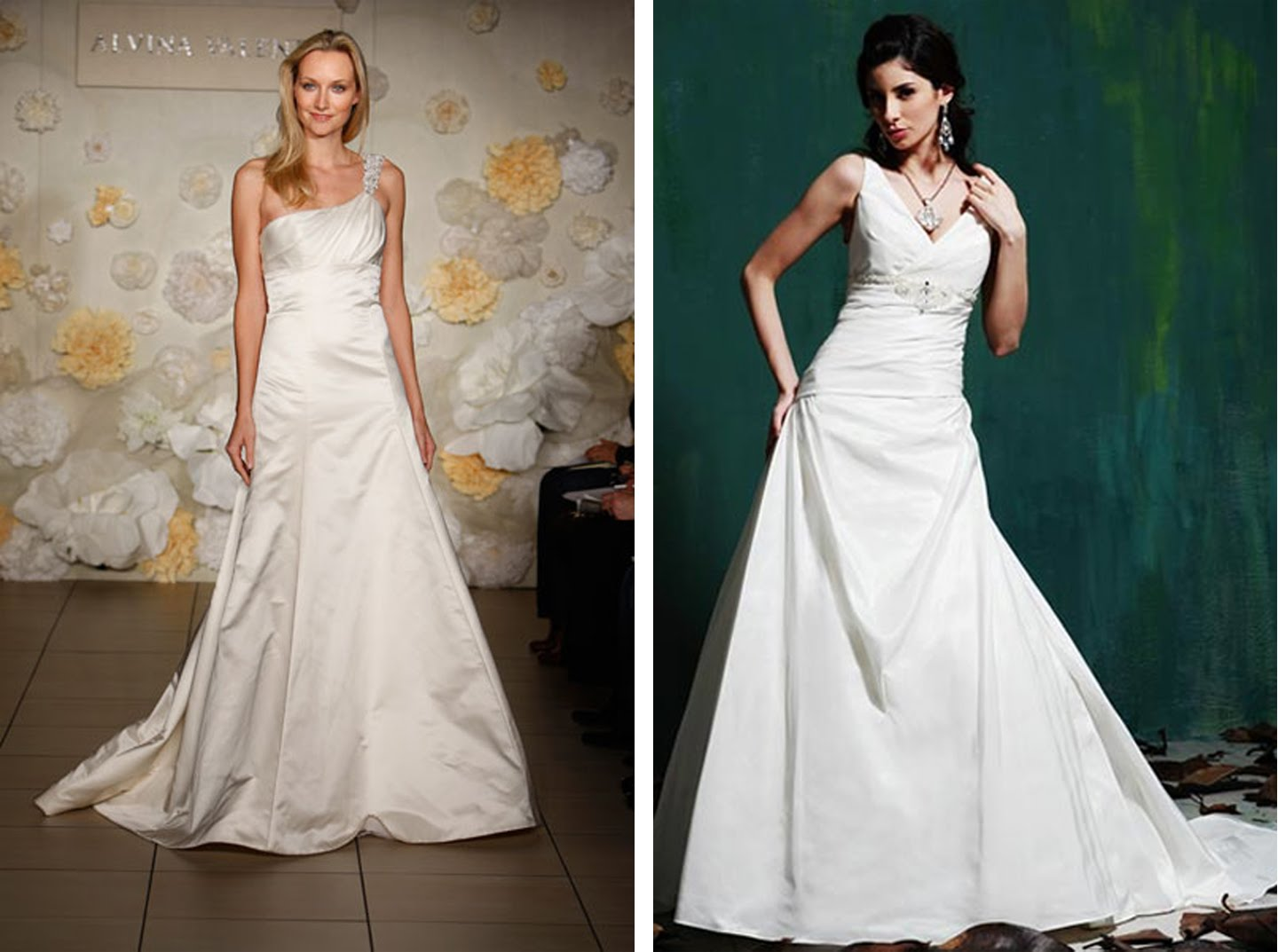 The Right Wedding Dress for
