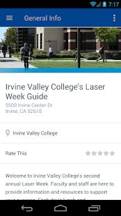 Irvine Valley College - screenshot