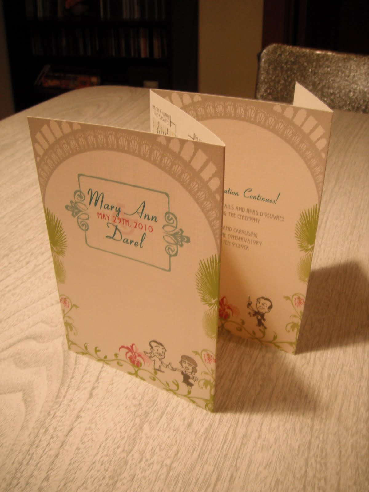 epper s blog christmas wedding programs