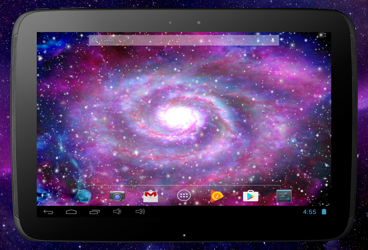Galaxy Pro Live Wallpaper Screenshot 8