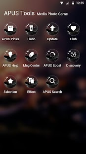 Magic Ball-APUS Launcher theme - screenshot