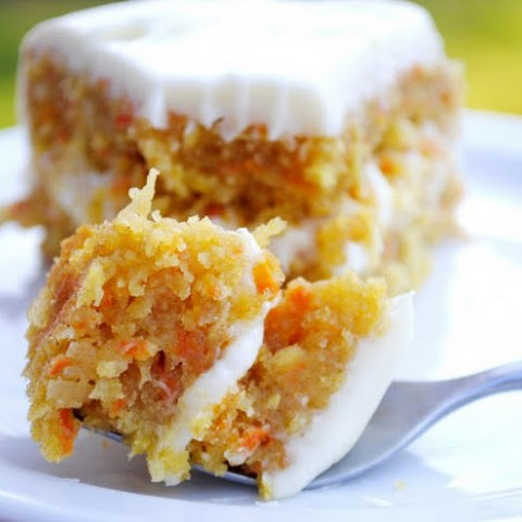 Pineapple Carrot Coconut Cake