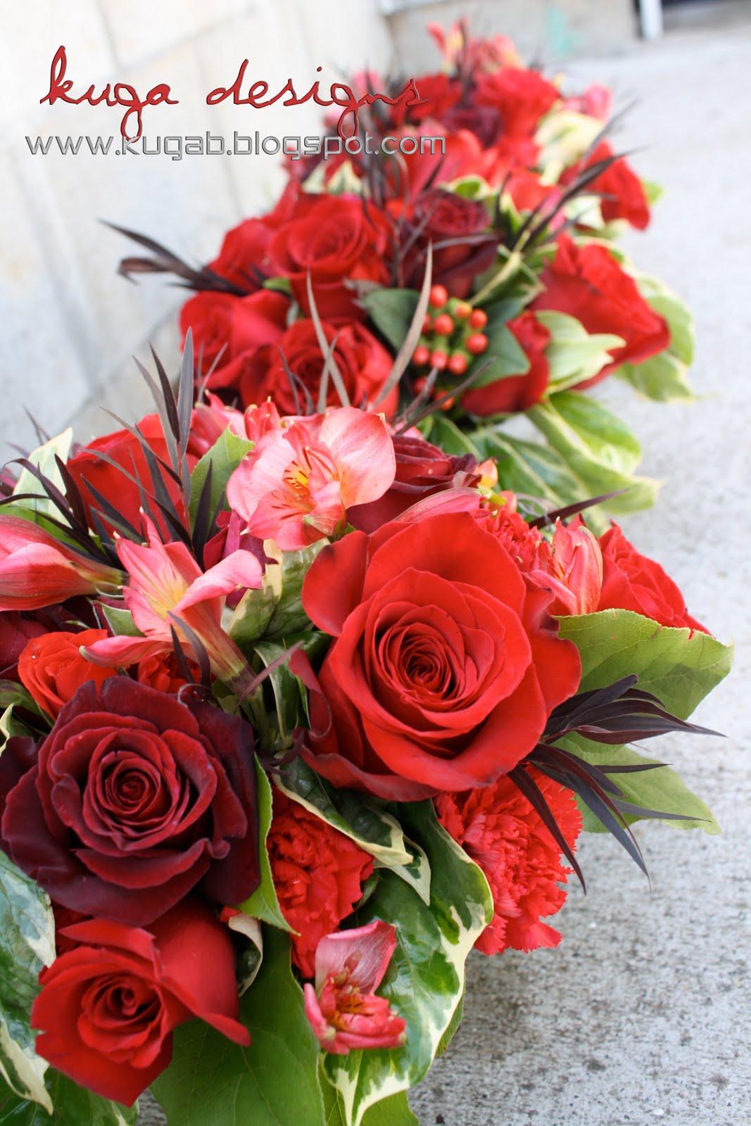 heart wedding centerpieces