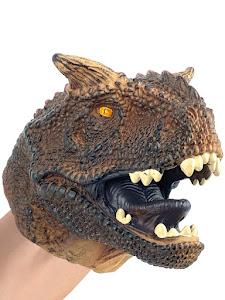 "Игрушка-фигурка серии ""Город Игр"", динозавр мегалозавр, бибабо"