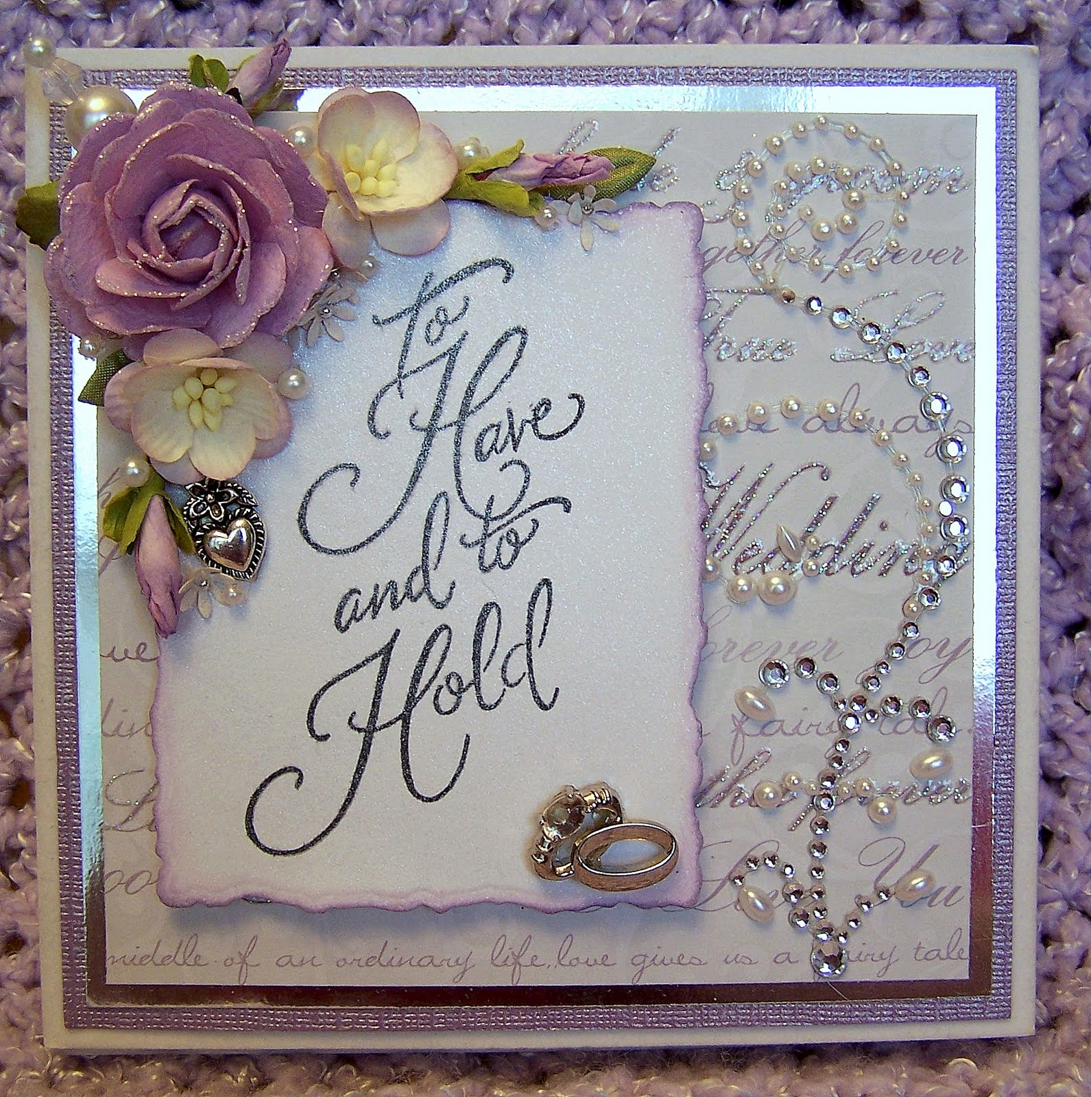 Precy39;s blog: handmade wedding card,