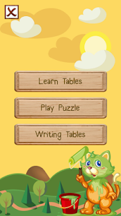Math Table - screenshot