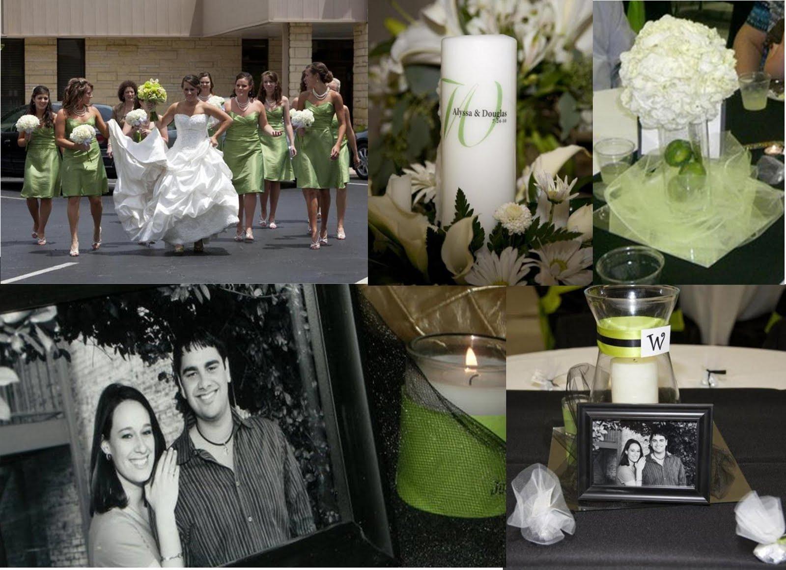 Dustine\'s blog: aqua, black, and pink wedding
