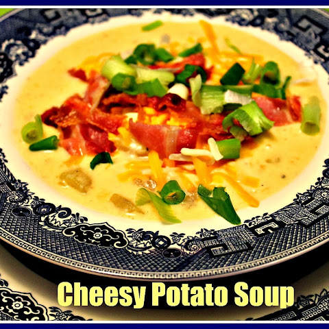 Cheesy Potato Soup...Comfort in a Bowl!