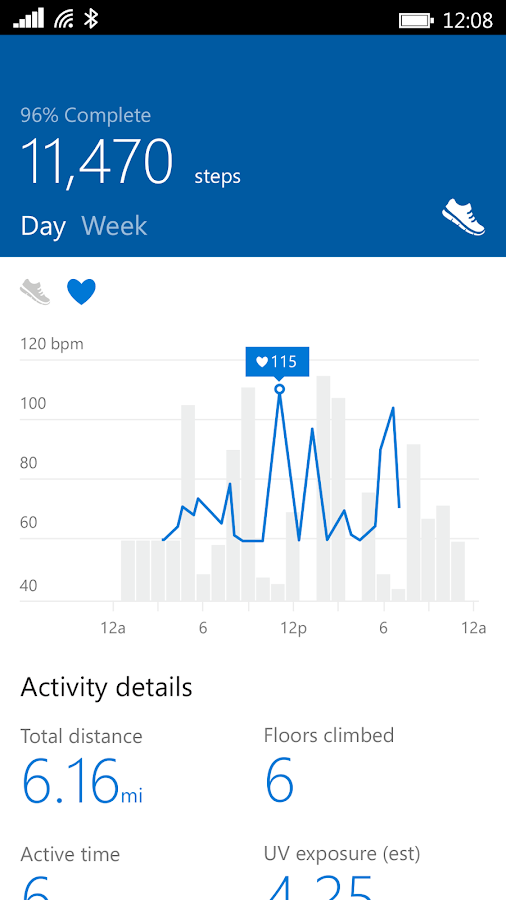Microsoft Band Screenshot 6
