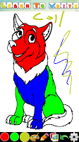 Screenshot of Coloring Pages for kids