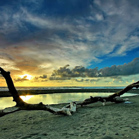 Cast Away II by Agoes Antara - Landscapes Sunsets & Sunrises