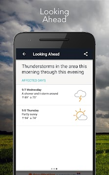 AccuWeather Platinum APK screenshot thumbnail 3