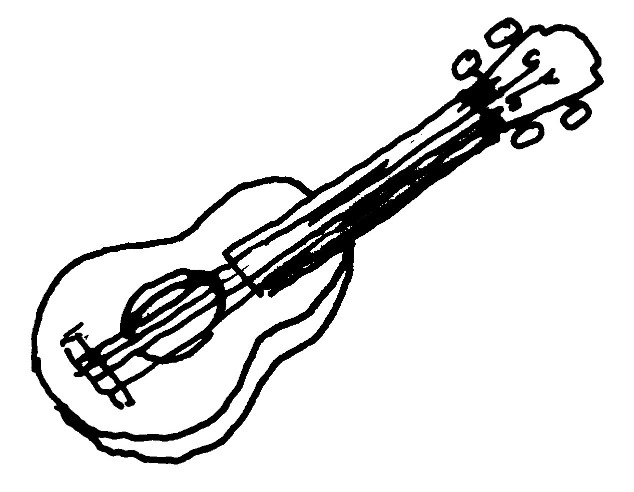 music instruments band clipart