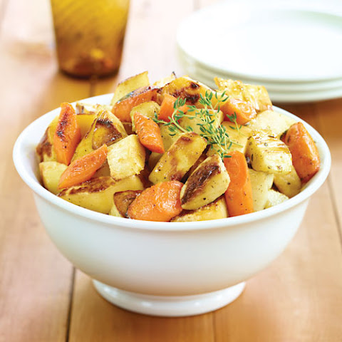 Honey Roasted Root Vegetables