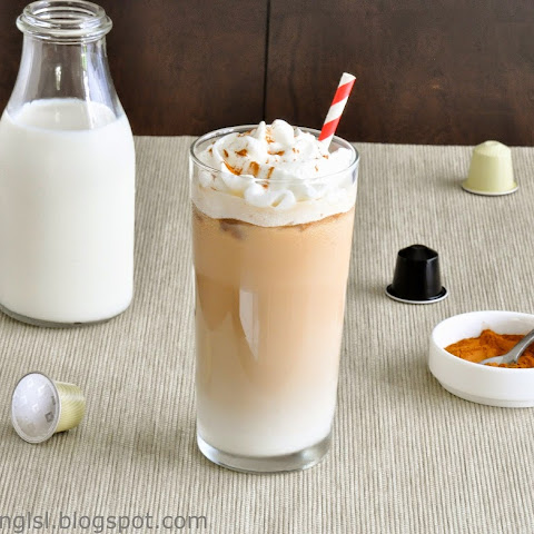 Iced Vanilla Coffee Latte Recipe (Using Nespresso)