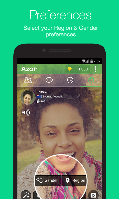 Azar-Video Chat&Call,Messenger Screenshot 1