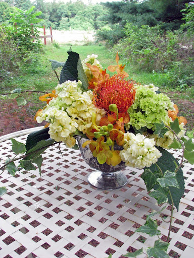 hydrangea centerpieces for hydrangea wedding centerpieces
