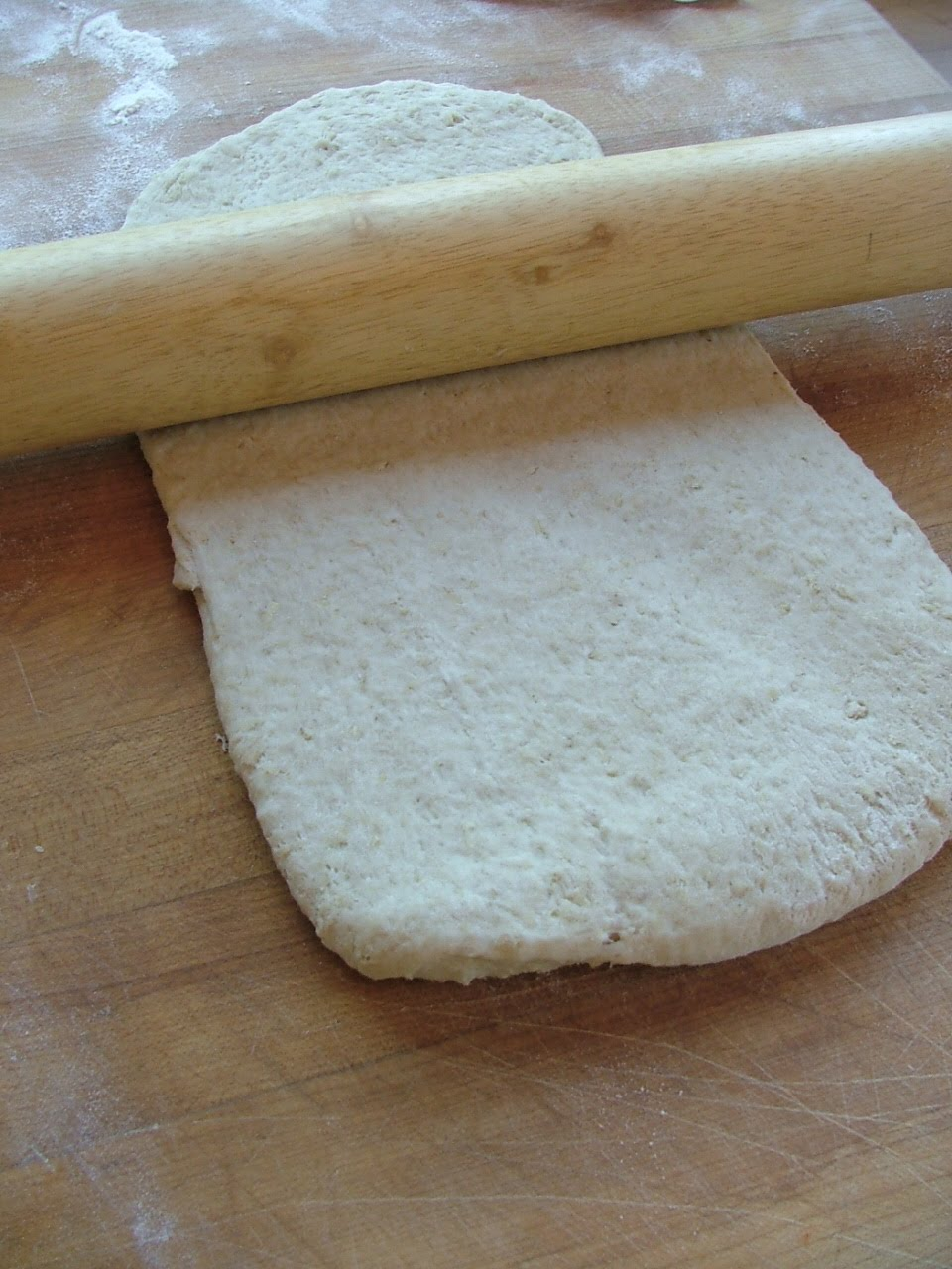 making bread...