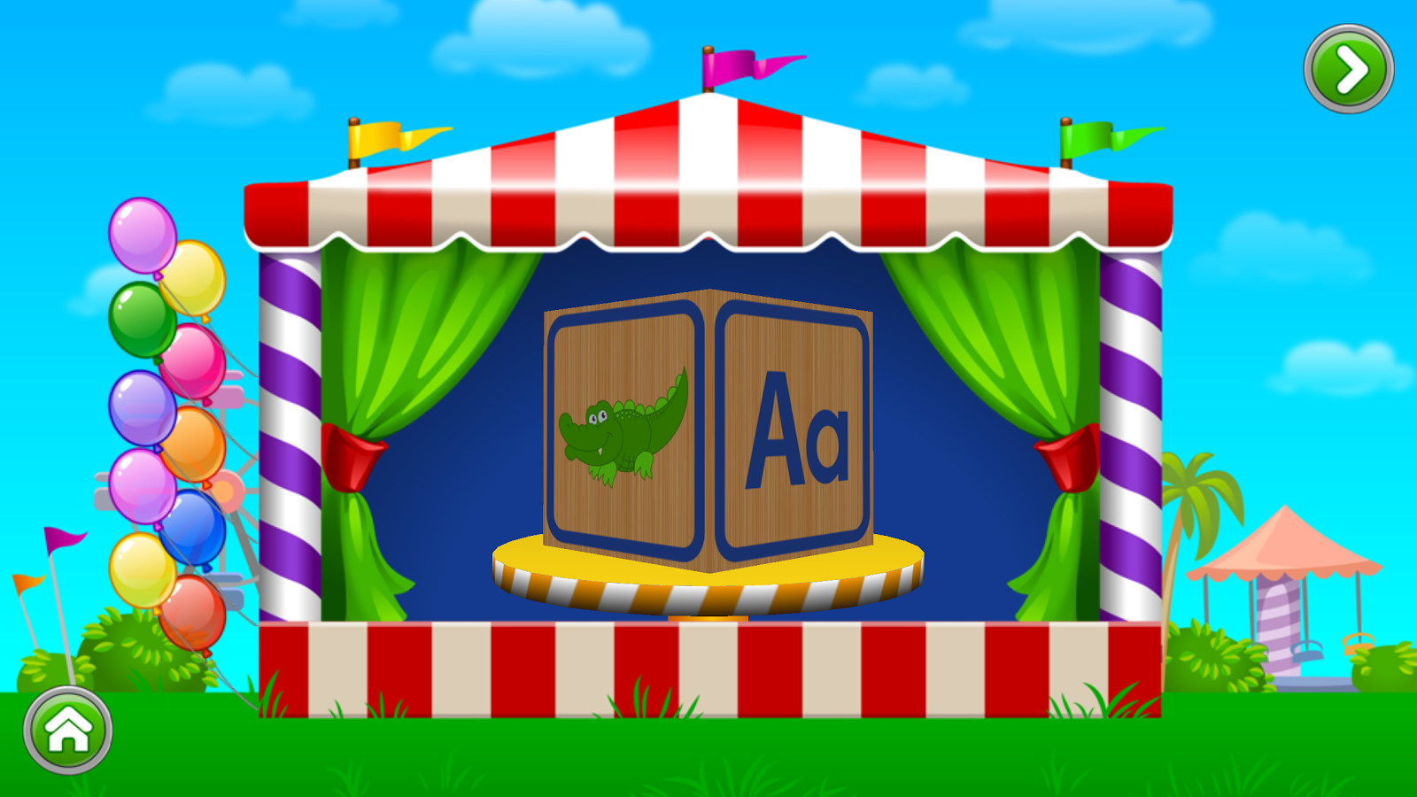 Kids ABC Letter Phonics Screenshot
