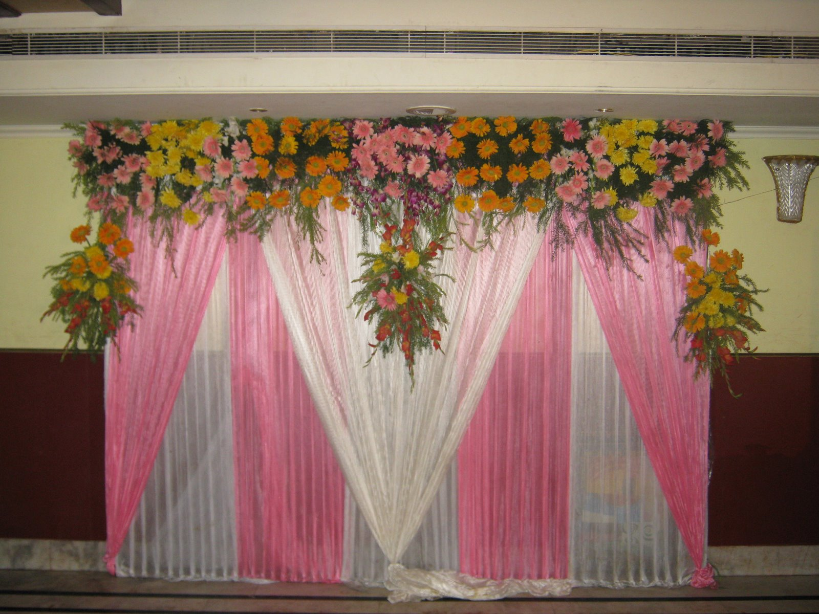Hindu wedding stage flower decoration tips to make wedding planning hindu wedding stage flower decoration sterrling s mens wedding tuxedos vector junglespirit Gallery