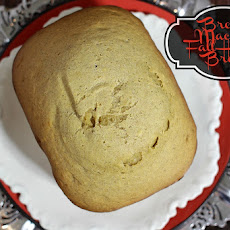 Fall Harvest Bread Recipe made with Bread Machine