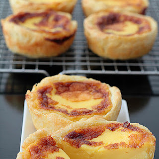 Portuguese Egg Tart Pastry Recipes