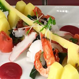 Tasty Plate by Lope Piamonte Jr - Food & Drink Plated Food