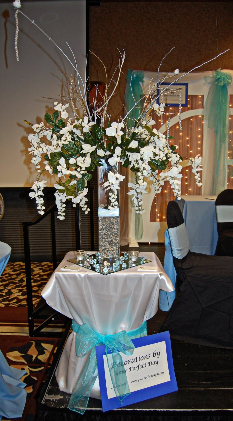 Tall centerpieces with