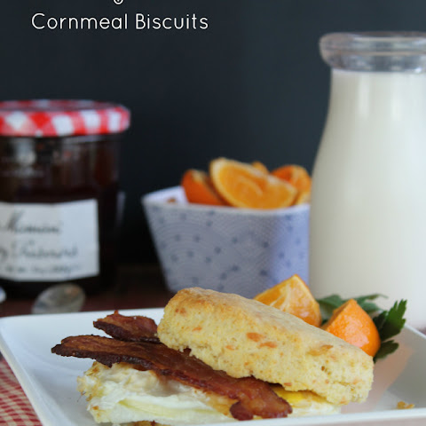 Smoked Cheddar & Cornmeal Biscuits