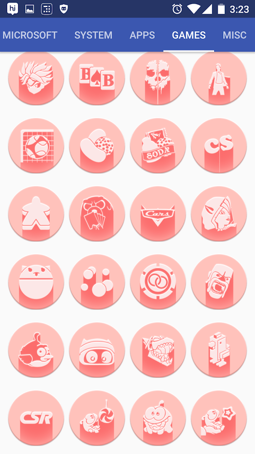 Pink Multilauncher Icon Pack Screenshot 11