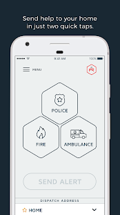 Rescu - Emergency Response App screenshot for Android