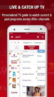 App JioTV Live Sports Movies Shows APK for Windows Phone